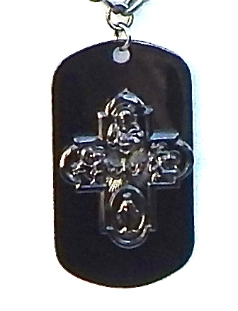 GASOLINE GLAMOUR - DRUNK CATHOLIC DOG TAG - FETISH