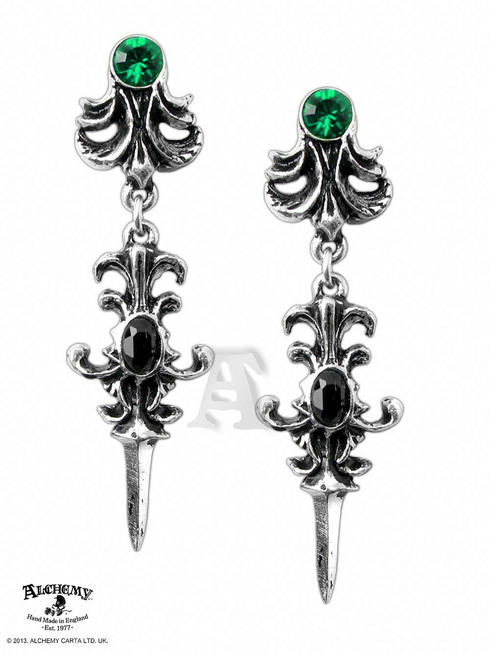 ALCHEMY OF ENGLAND - Westenra Spica Earrings - FETISH