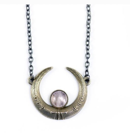 THE ROGUE + THE WOLF - ECLIPSE NECKLACE - FETISH