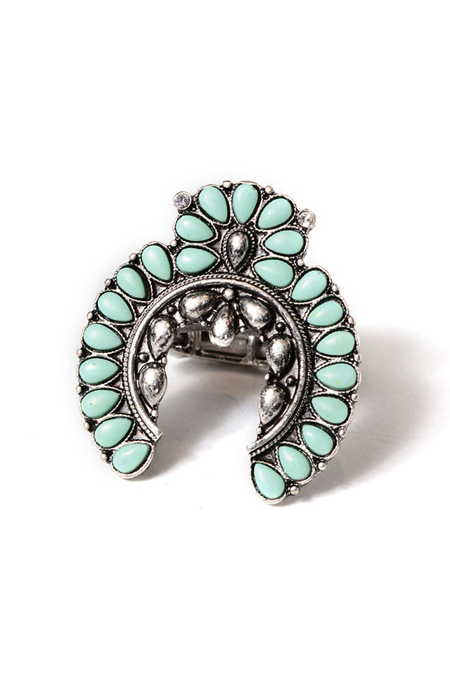 FETISH - SQUASH BLOSSOM RING - FETISH