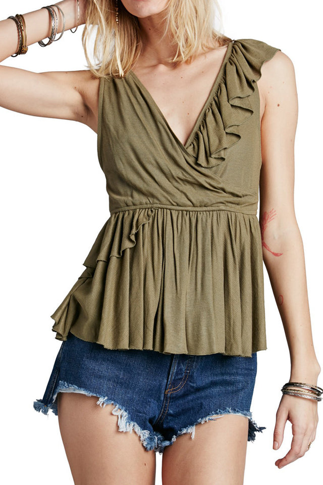 FREE PEOPLE - FLOAT AWAY TANK (2 COLORS AVAILABLE) - FETISH