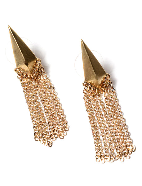ARROWHEAD FRINGE EARRINGS (2 COLORS AVAILABLE)