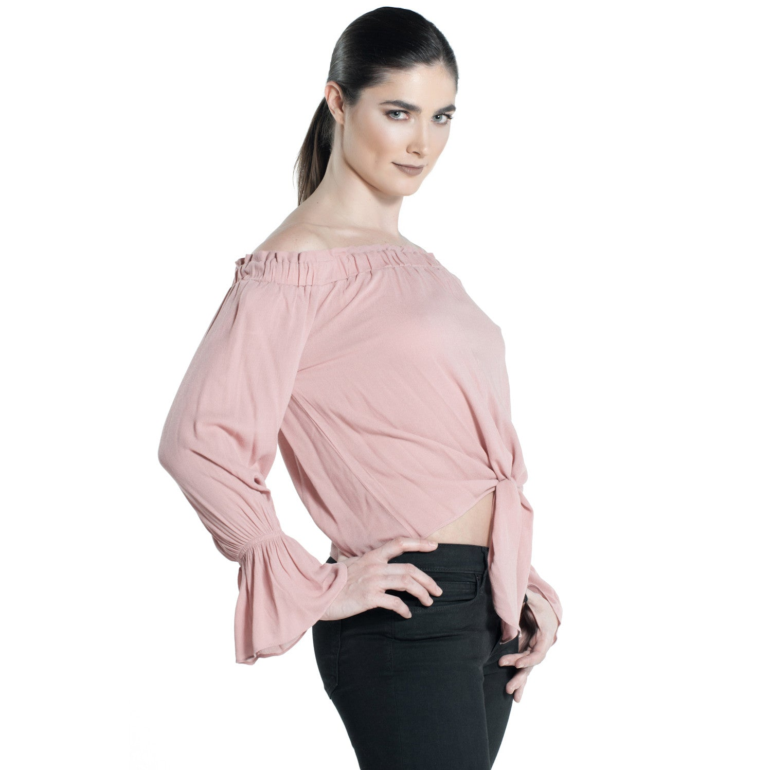 TOPANGA TOP IN BLUSH