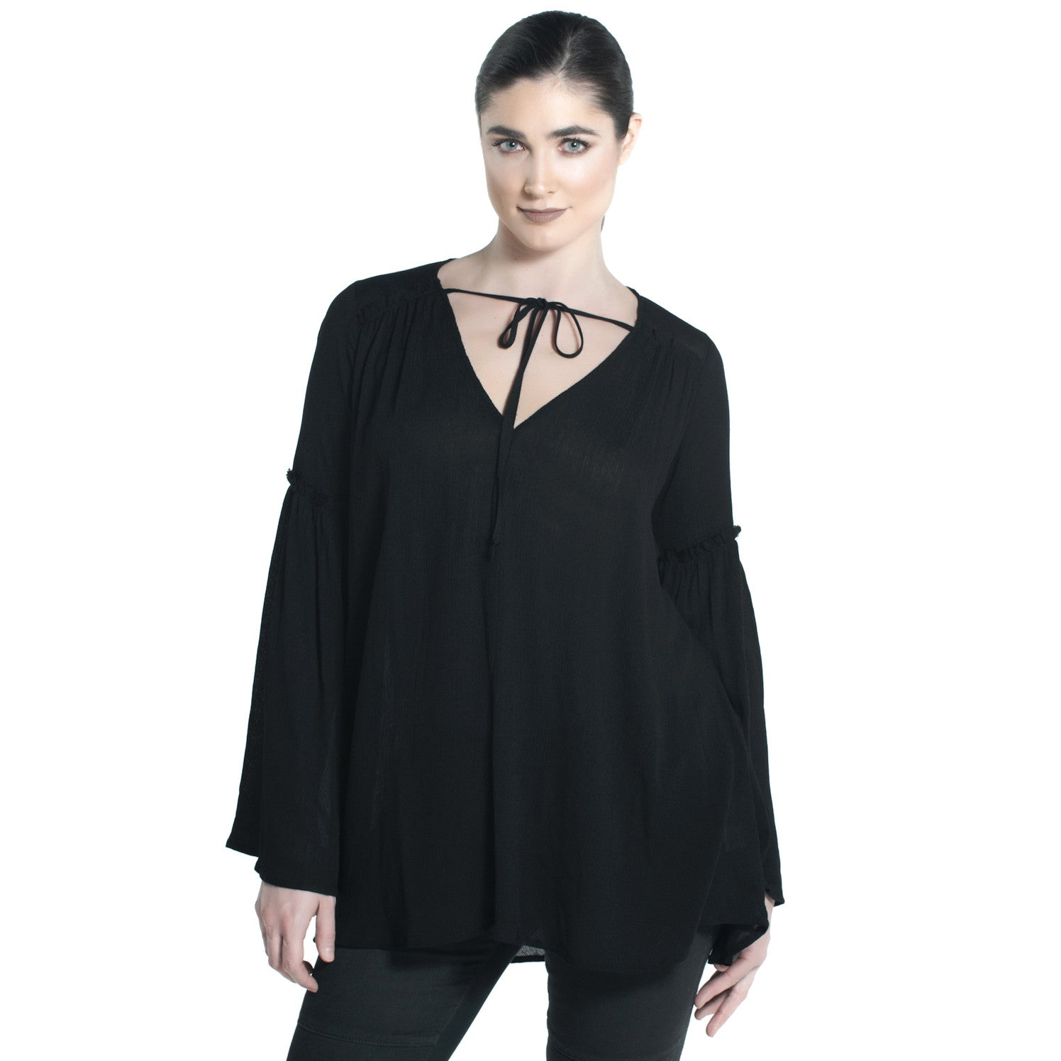 ROAD TO HEAVEN TOP IN BLACK