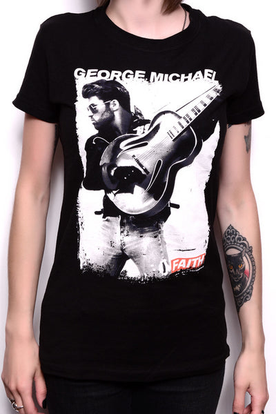 GEORGE MICHAEL FAITH GRAPHIC TEE