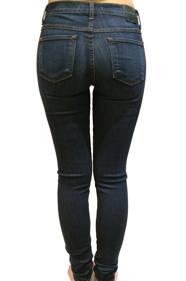 FLYING MONKEY - HI WAISTED DARK INDIGO EX SOFT SKINNIES - FETISH