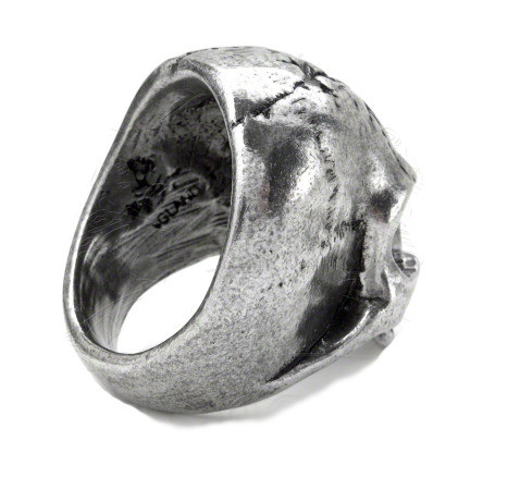 ALCHEMY OF ENGLAND - Ruination Skull Ring - FETISH