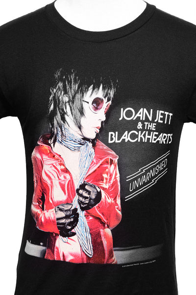 JOAN JETT UNVARNISHED GRAPHIC TEE