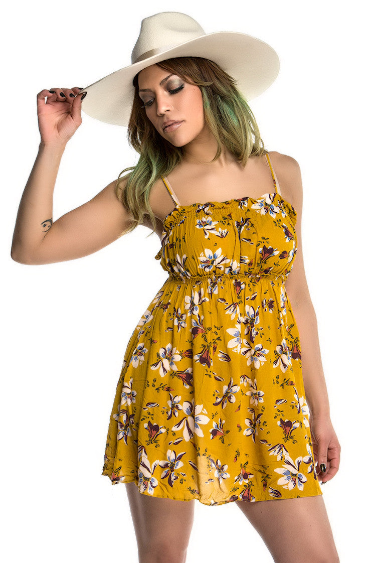 FREE PEOPLE - JOLENE FLORAL SLIP DRESS (2 COLORS AVAILABLE) - FETISH