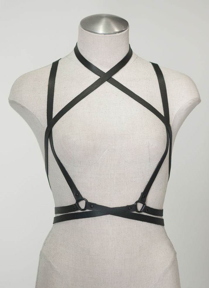 JAKIMAC - LACE WRAP HARNESS - FETISH