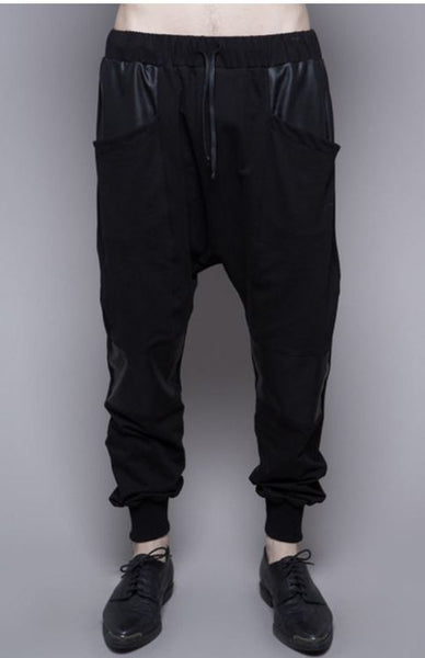 Widow Resurrection Past French Terry Drop Crotch Pants