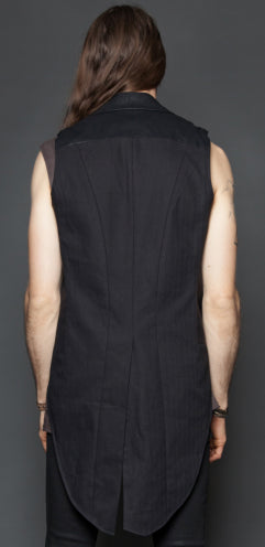 LIPSERVICE - SIDESHOW TAIL BACK VEST - FETISH