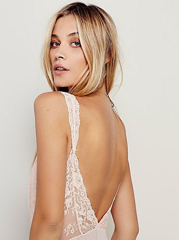 FREE PEOPLE - MIDNIGHT HOURS MESH & LACE BODYSUIT (2 COLORS AVAILABLE) - FETISH