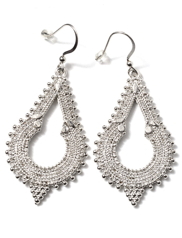MARLYN SCHIFF - MOROCCAN KEYHOLE EARRING (2 COLORS AVAILABLE) - FETISH