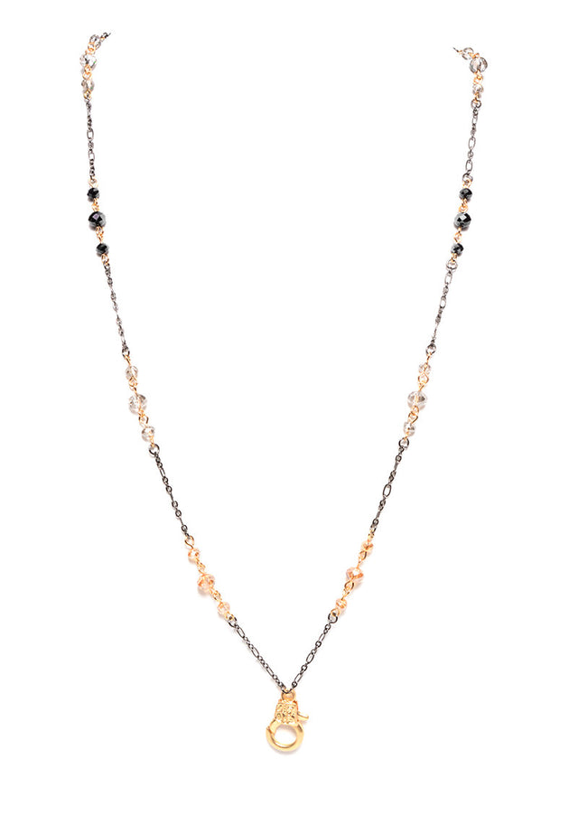MARLYN SCHIFF - CRYSTAL INTERCHANGEABLE CHAIN (2 COLORS AVAILABLE) - FETISH