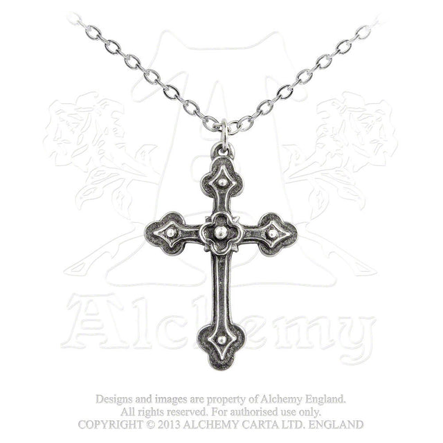 ALCHEMY OF ENGLAND - GOTHIC DEVOTION PENDANT - FETISH