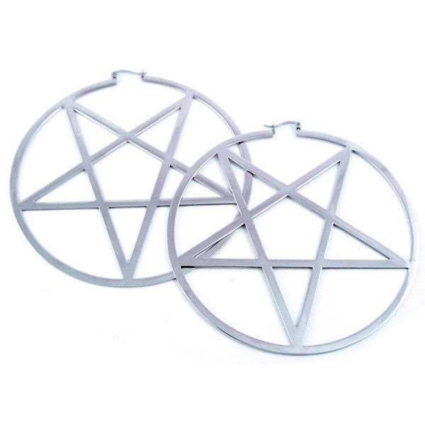 KILLSTAR - PENTAGRAM EARRINGS - FETISH