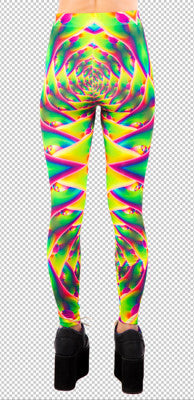 LIPSERVICE - PSYCHADELIC LEGGINGS - FETISH