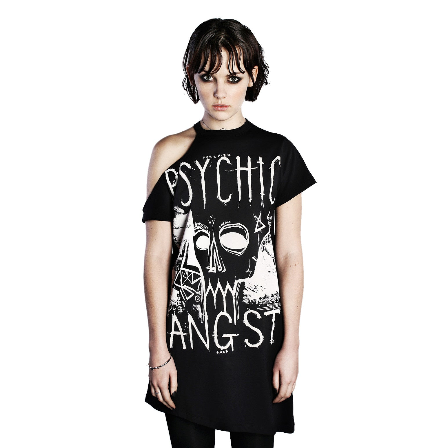 Psychic Angst Tee Dress