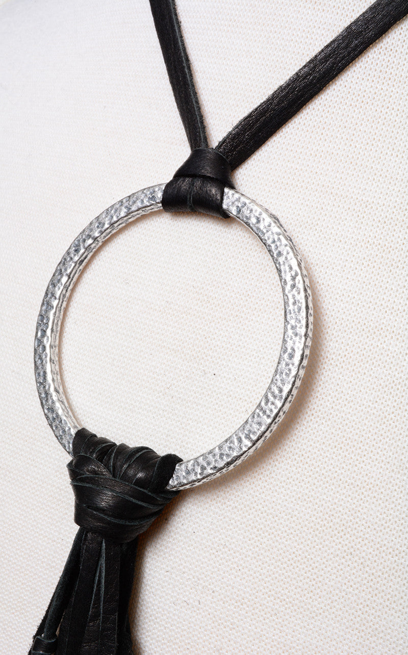 BUJU JEWELRY - RINGCHA LEATHER CHOKER - FETISH