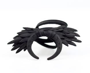 THE ROGUE + THE WOLF - RITUAL RING (BLACK) - FETISH