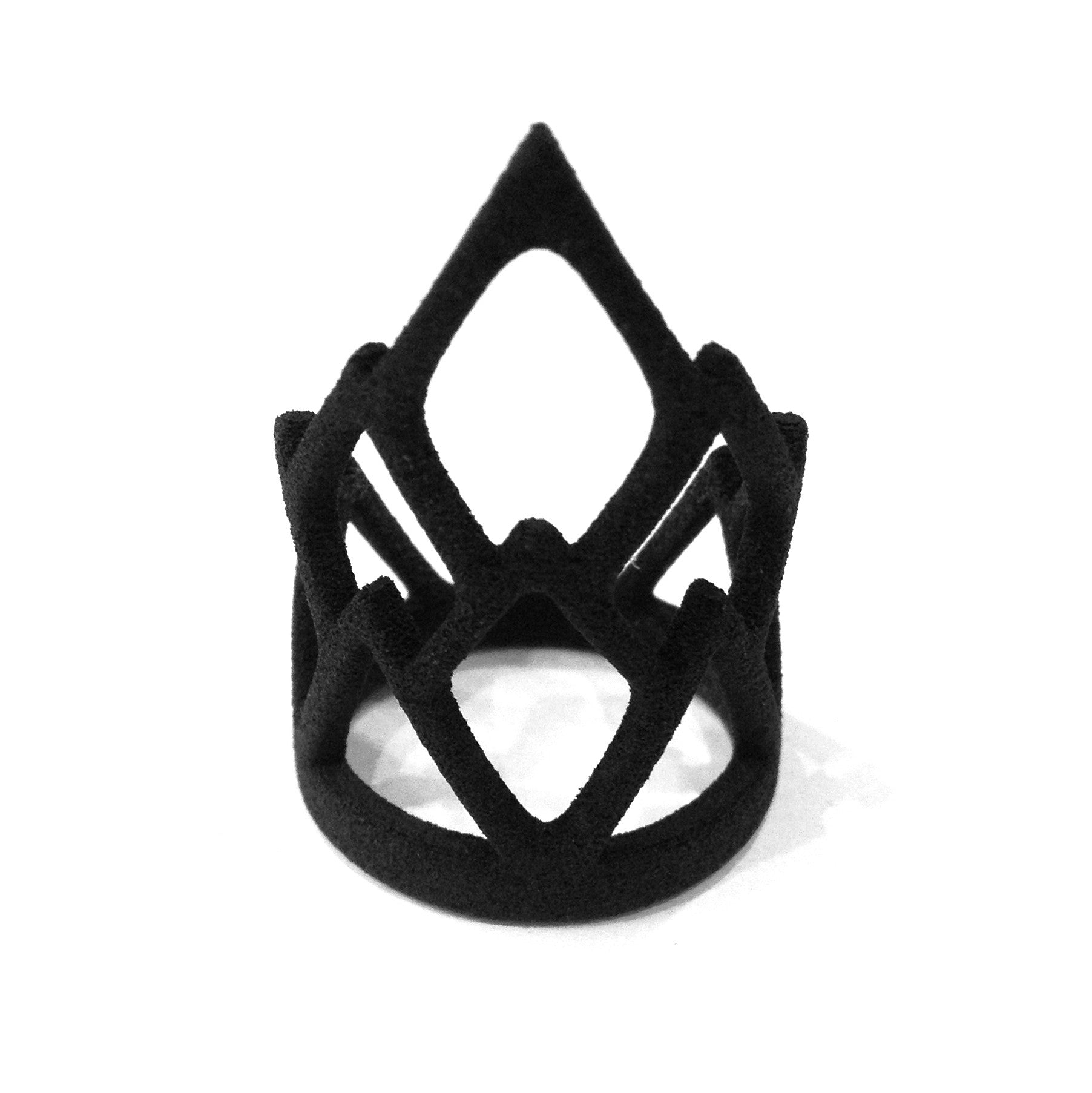 THE ROGUE + THE WOLF - RULE RING (BLACK) - FETISH