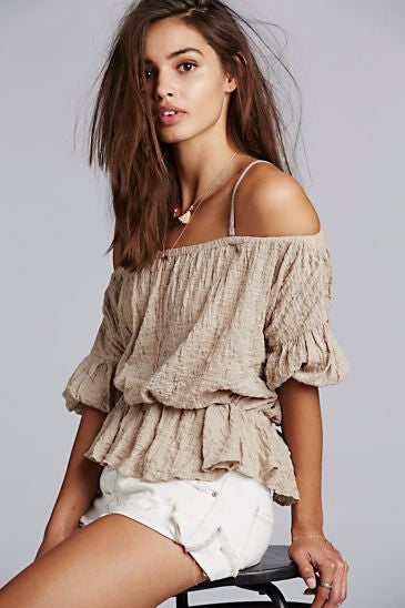FREE PEOPLE - SHADES OF COOL TOP - FETISH
