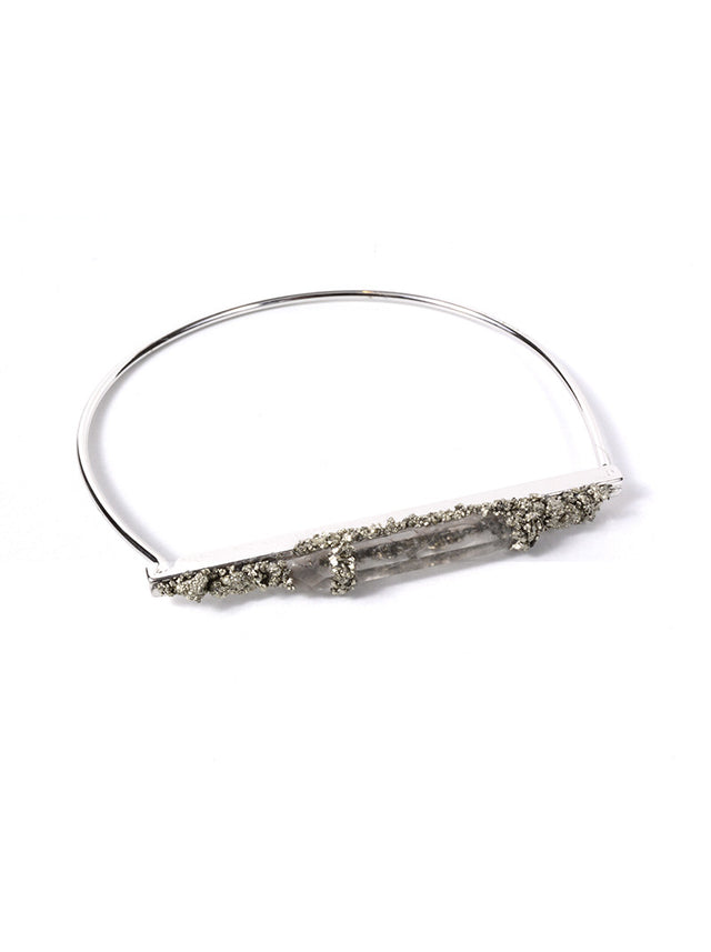 MARLY MORETTI - SILVER BAR BRACELET (2 COLORS AVAILABLE) - FETISH