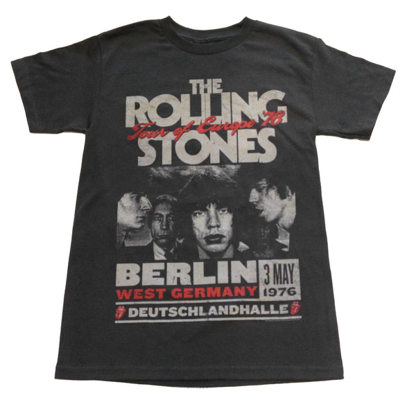 "ROLLING STONE ""EURO 76"" VINTAGE STYLE TEE"