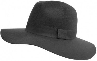 FETISH - WOOL FELT WIDE BRIM FEDORA (AVAILABLE IN 2 COLORS) - FETISH