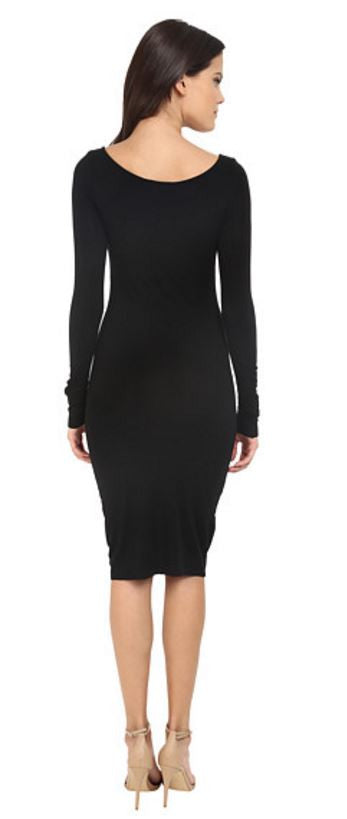 LA MADE - JETT DRESS IN BLACK - FETISH