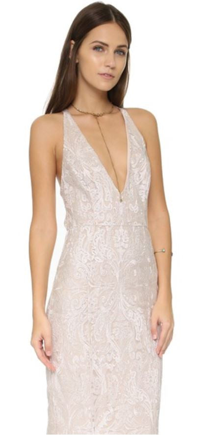 FREE PEOPLE - JULIET BODYCON MAXI DRESS IN IVORY - FETISH