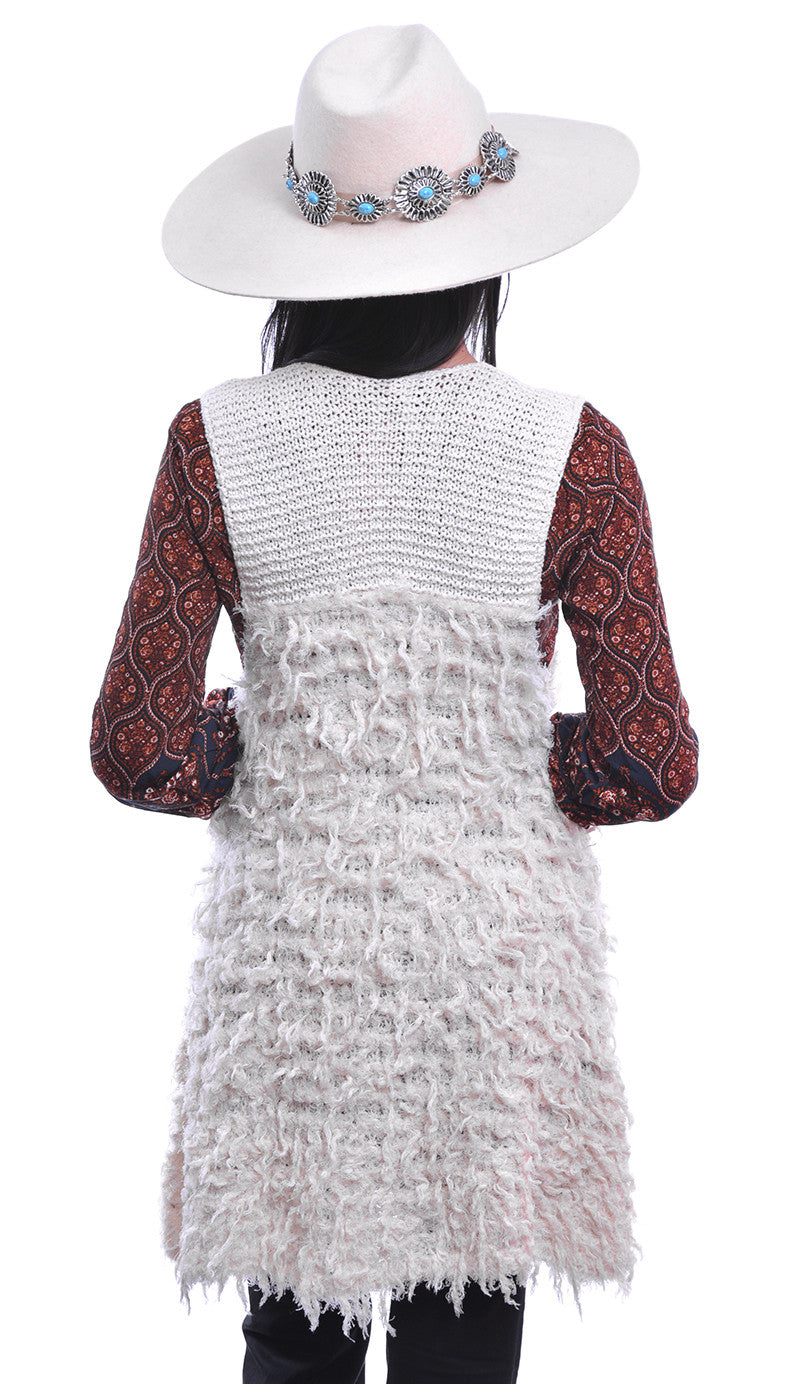 FREE PEOPLE - ROLLING STONE SWEATER VEST - FETISH