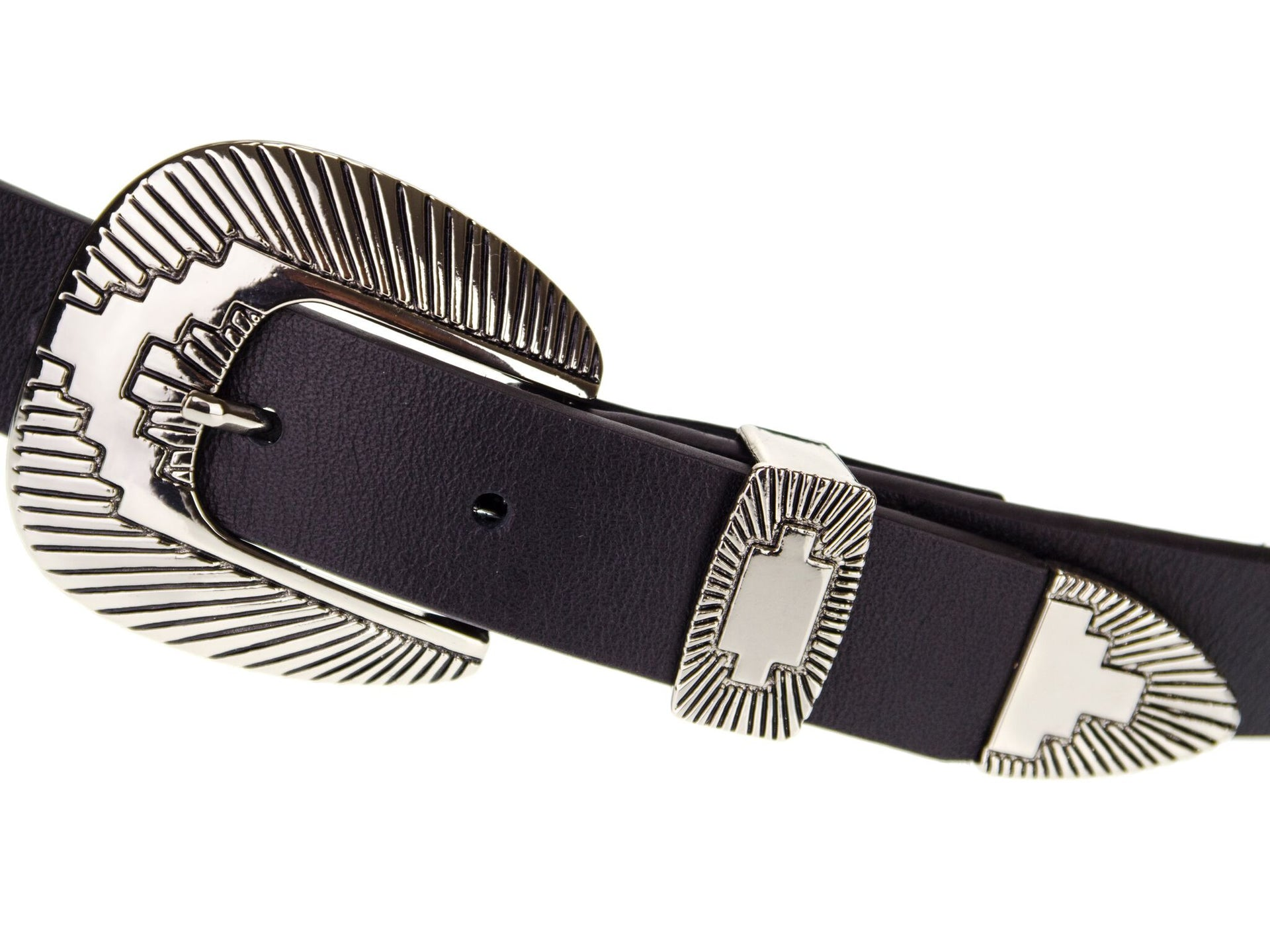 WHALEY BELT IN BLACK