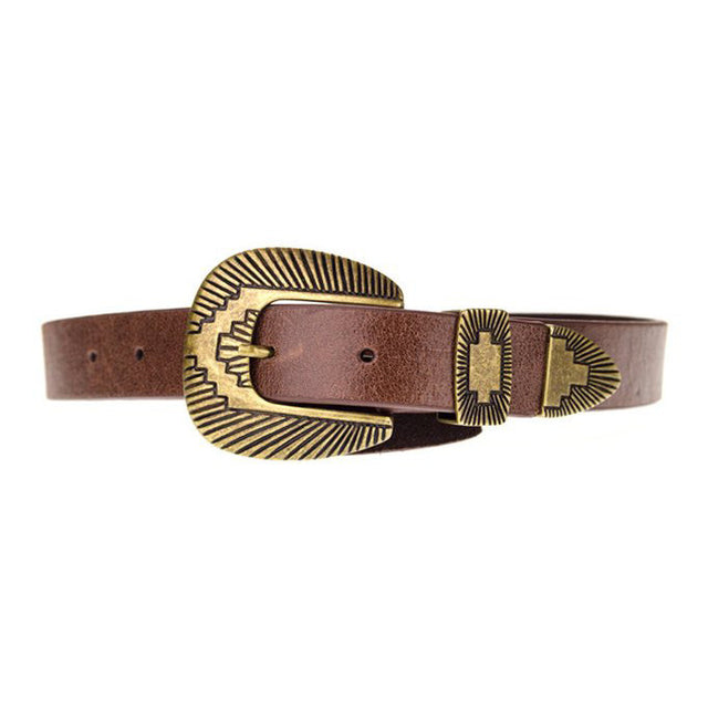 WHALEY BELT IN BROWN