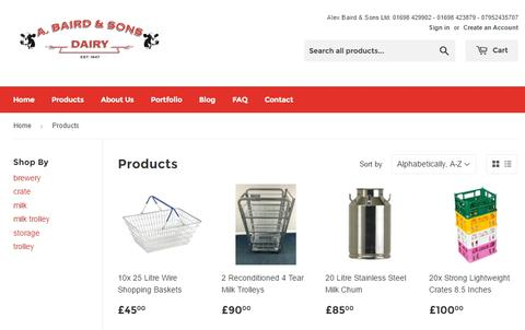 Glasgow's Recommended Online Milk Crate Supplier