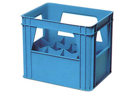 Plastic Wine Bottle Crate