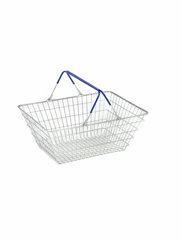 5x 25 Ltr Mesh Shopping Baskets