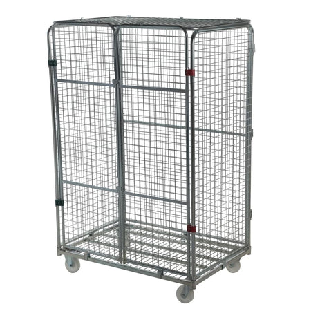 Four Sided Security Jumbo Roll Pallet
