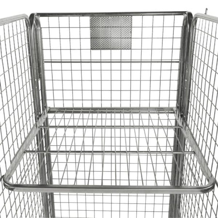 Four Sided Roll Cage (Mesh Infill) Optional Shelf