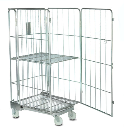 Roll Container Stock Cage with 4 Sides