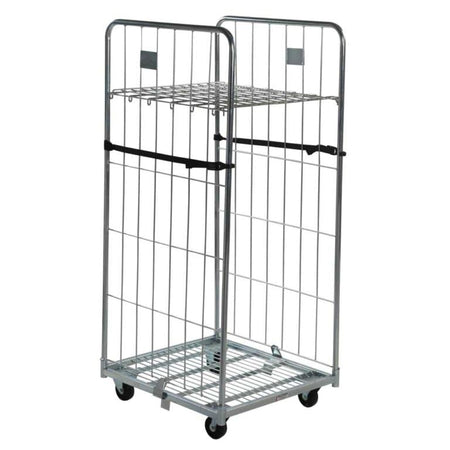 2 Sided Demountable Roll Cage with Shelf