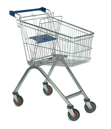 Compact Seated Shopping Trolley (90Ltr)