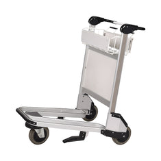 Trafficker Aluminium Airport Luggage Trolley with 3 Wheels