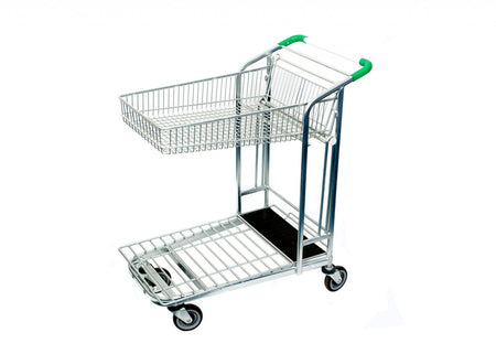 Folding Basket Trolley