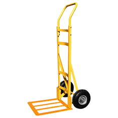 Sack truck with large light toe plate