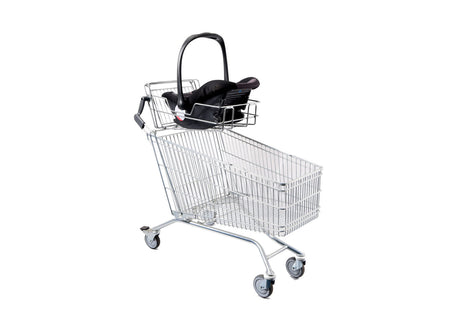 Shopping Trolley with Car Seat Carrier