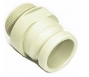 "2"" Male Camlock Plastic Fitting for the TPS Liquid Liner Bags"