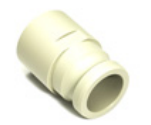 "S60 Camlock 2"" Plastic Discharge Fitting for the TPS Liquid Liner Bag"
