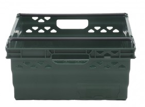 Stackable UltraNest Section Nest Crate Back View